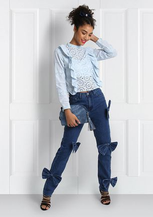BOW DOWN JEANS