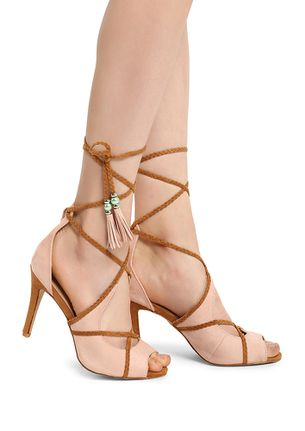 Office Sweetie Pie Embellished Sandals Nude Online - Shoes