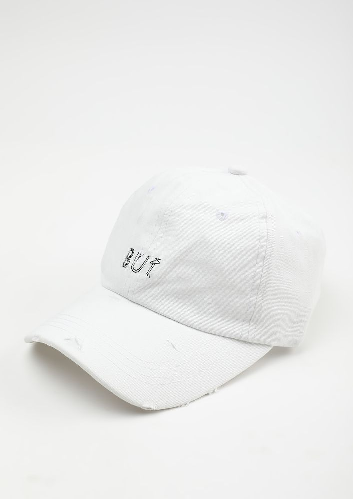 NO IF ONLY BUT WHITE CAP