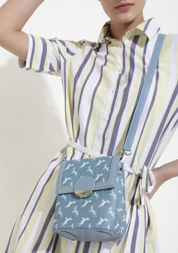 PERFECT DAY BLUE SLING BAG