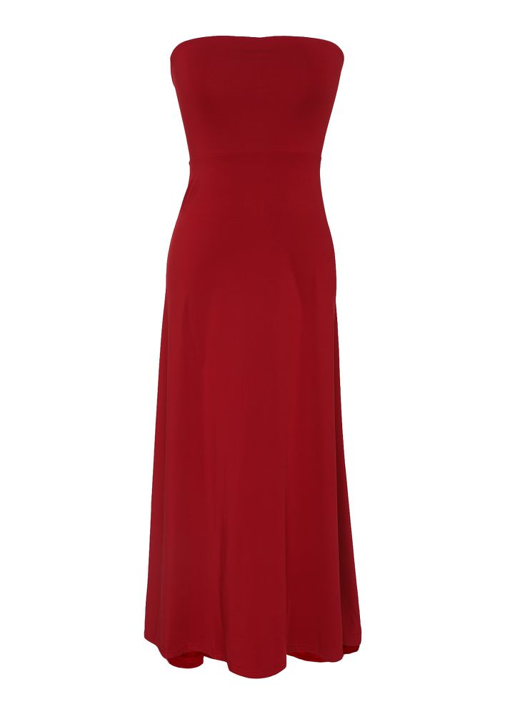 BLOSSOM FOR YOUR OWN JOY BODYCON DRESS IN RED