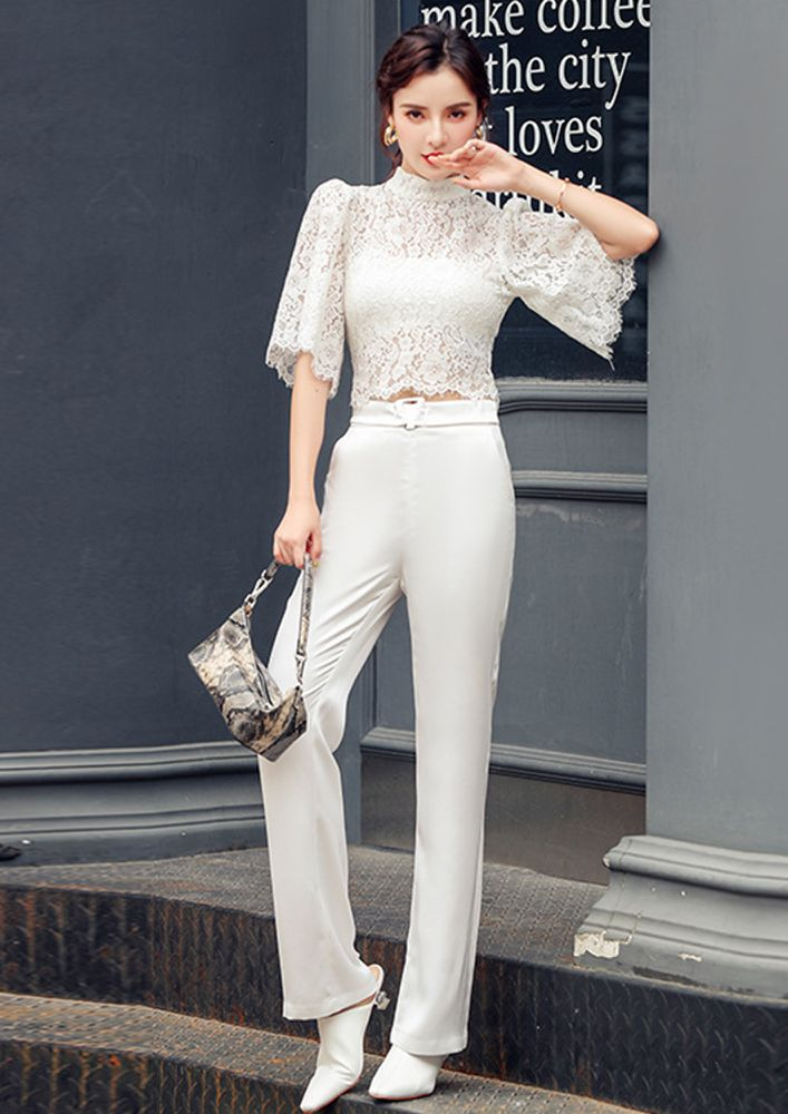 LACE ALL DAY LONG TWO PIECE SET