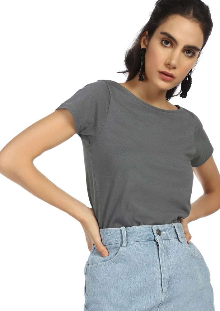 MUST HAVE SPORT GREY T-SHIRT