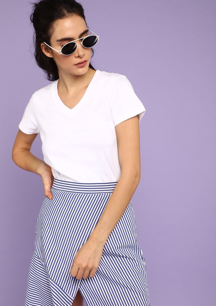 ESSENTIAL STREET STYLE WHITE T-SHIRT