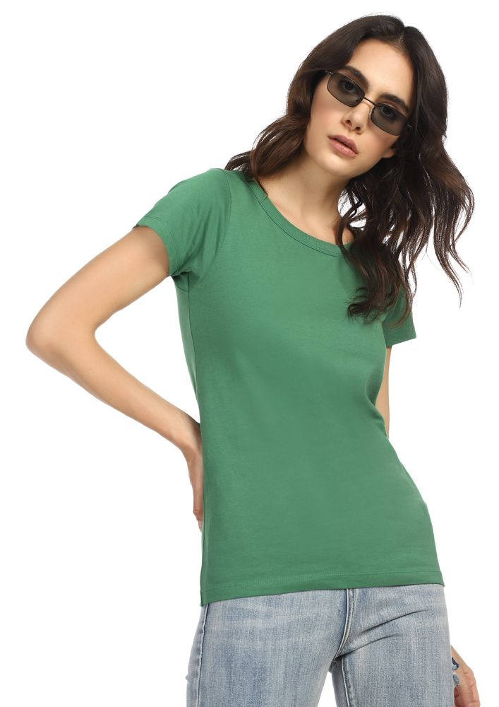 CASUAL STREET STYLE MINT GREEN T-SHIRT