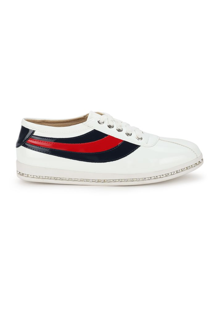 SOLE FOR SOUL WHITE CASUAL SHOES
