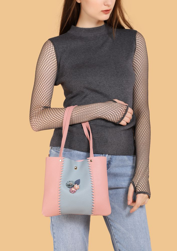 I LOVE YOU ANYWAY PINK HANDBAG