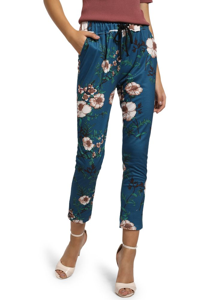 IN THE MOMENT BLUE TRACK TROUSERS