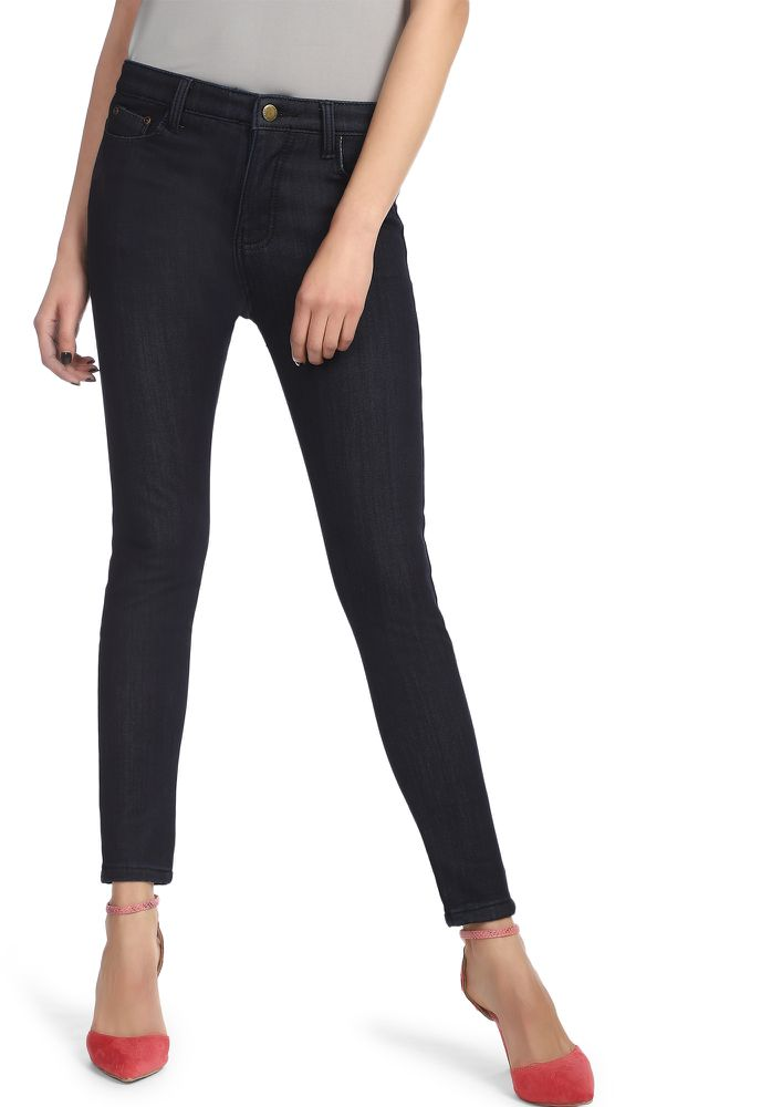 THOUSAND DREAMS DARK BLUE SKINNY JEANS