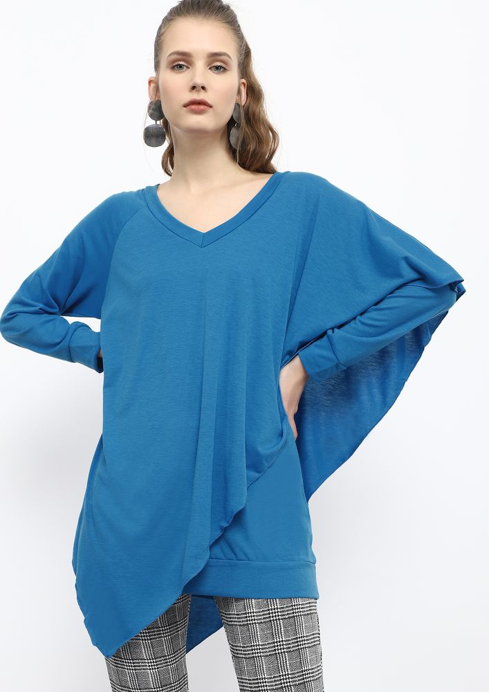 THE COSY HEAD ELECTRIC BLUE JUMPER