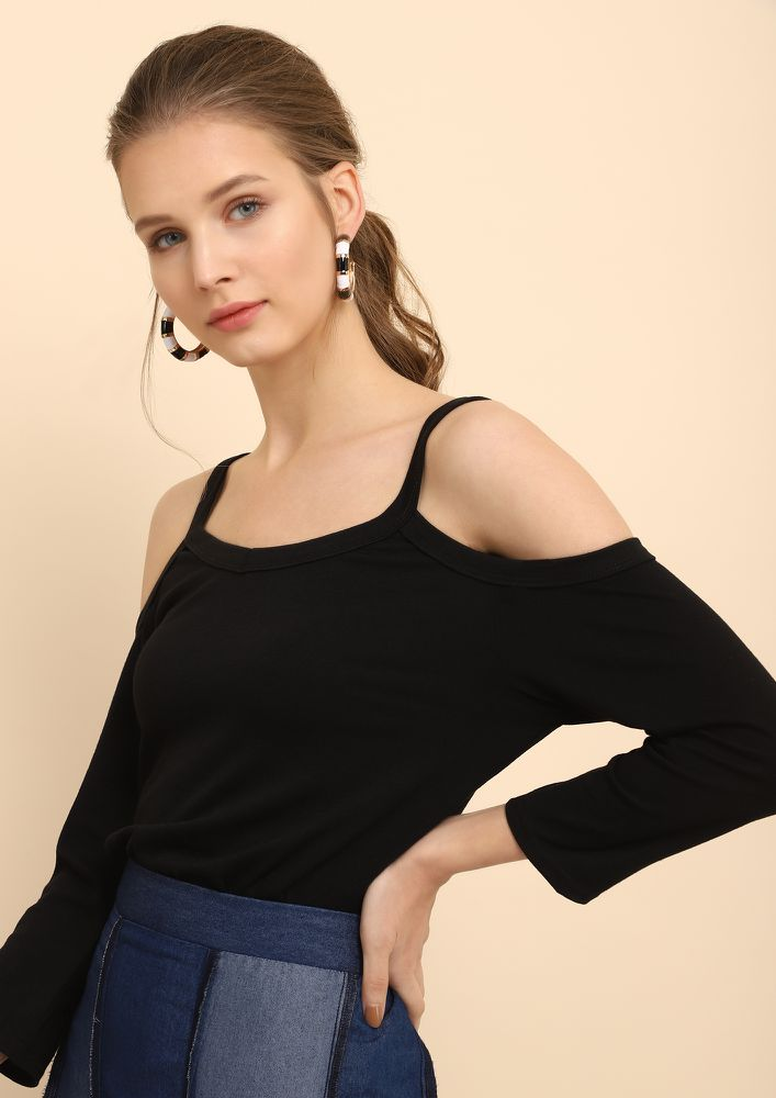 NOTHING BUT BASIC BLACK CAMI TOP