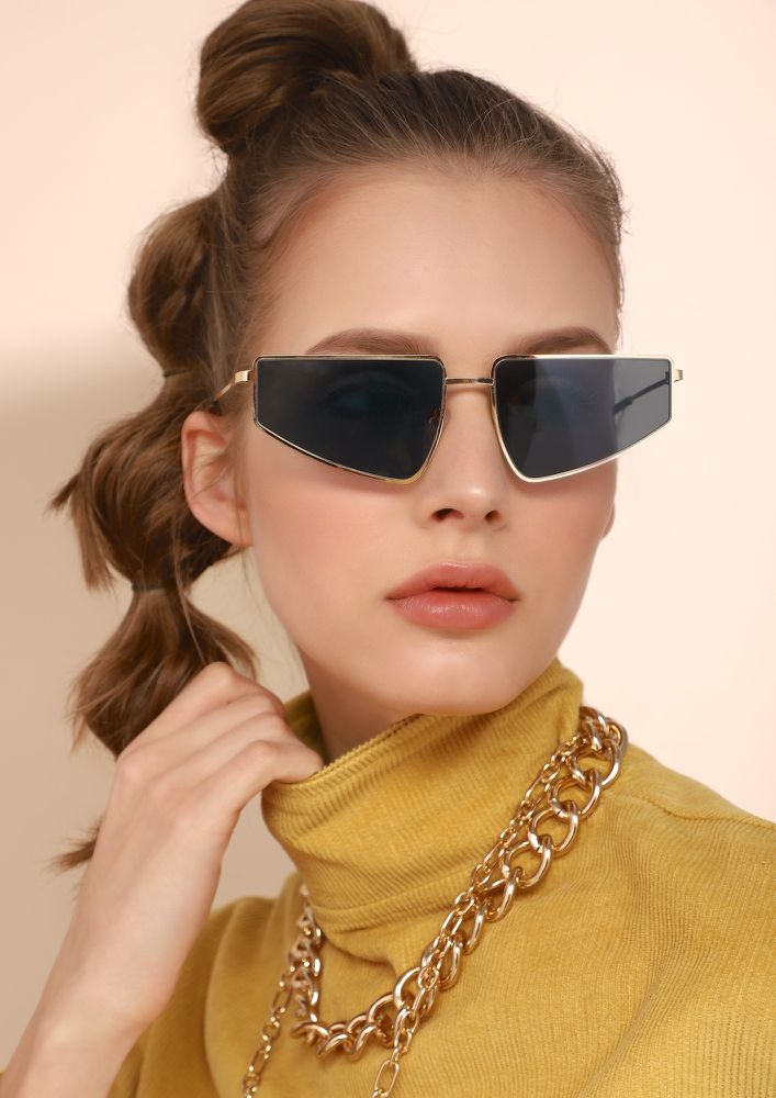 FUTURE FASHION CODE UNLOCKED GREY SUNGLASSES