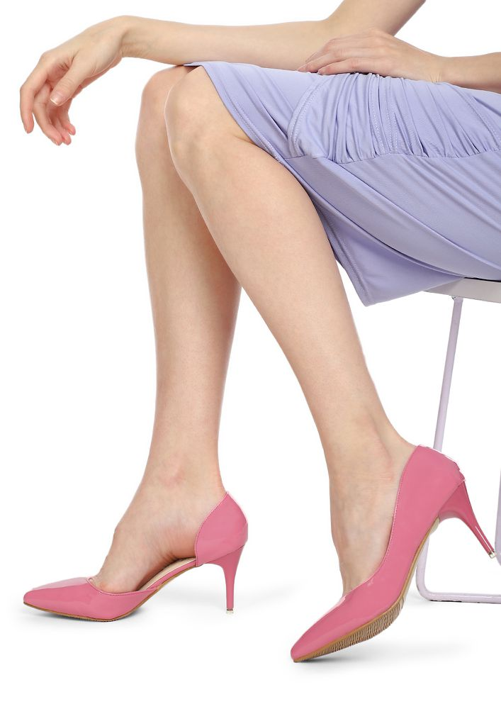 PLACES TO GO PINK PUMPS