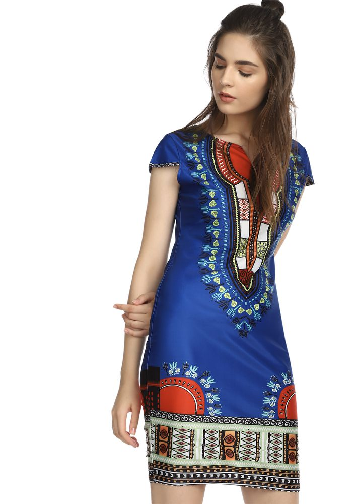 SUGAR AND SPICE MULTICOLOR TUNIC DRESS
