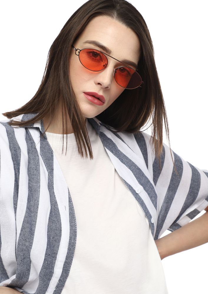MY SASSY GIRL RED RETRO SUNGLASSES
