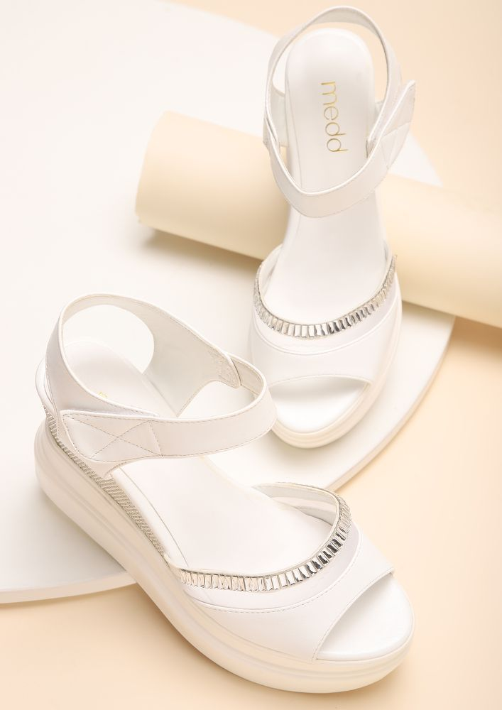 BITTER SWEET SYMPHONY WHITE WEDGES