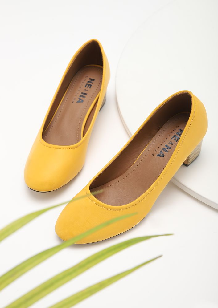 HIGH WORK DEMANDS YELLOW PUMPS