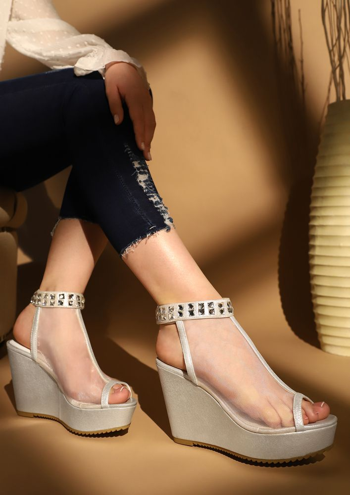 DUTCH THE HEARTS SILVER WEDGES