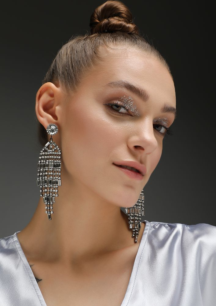 GOSS BABE LIFE'S A PARTY GOLDEN EARRINGS