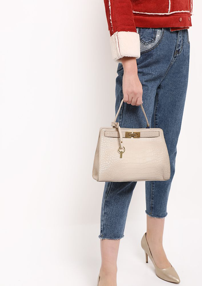 CROC TODAY IVORY SLING BAG