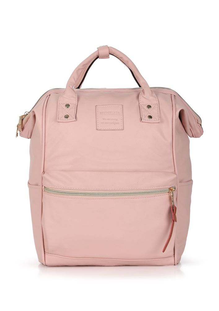 OLD-SCHOOL CHARM PINK BACKPACK