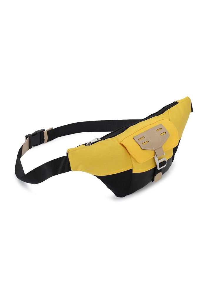 AM I HOOKED? YELLOW FANNY PACK