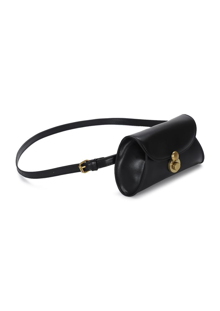 BABY'S DAY OUT BLACK FANNY PACK