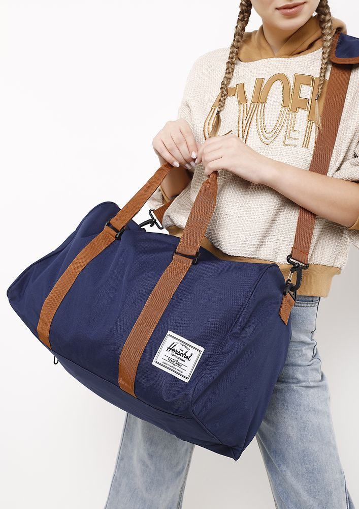 ALL WORKED UP BLUE DUFFLE BAG