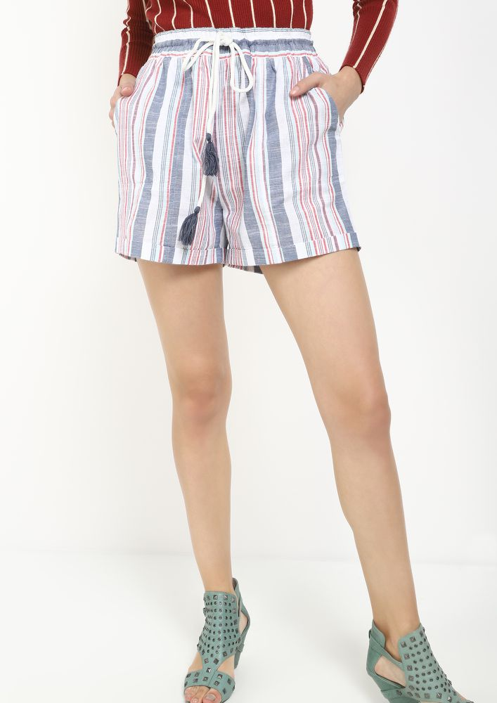 LAIDBACK AND COOL MULTICOLOR CASUAL SHORTS