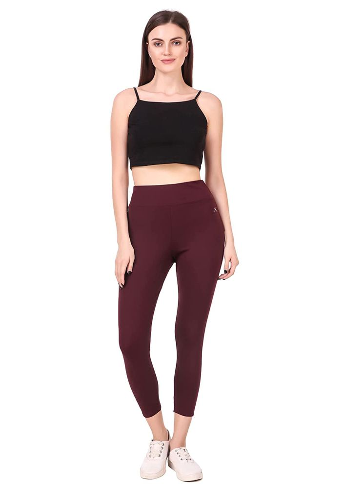 ACTION IN BOLD MAROON ACTIVEWEAR