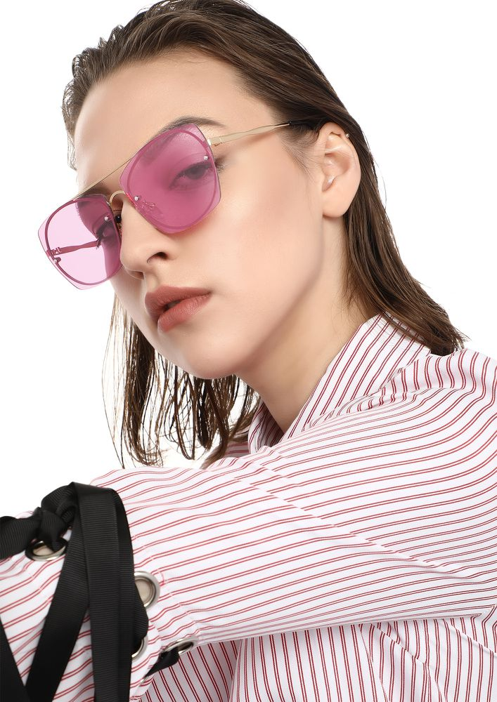 PRETTY WOMAN PINK RETRO SUNGLASSES