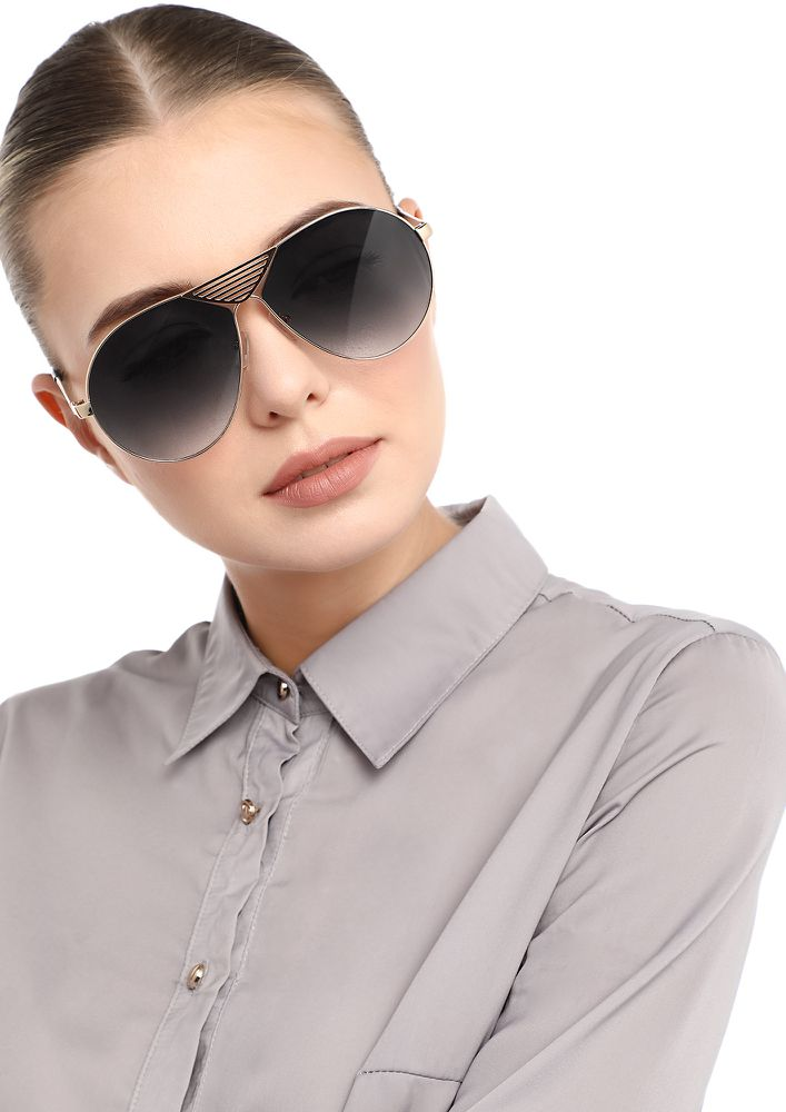 BIG DREAMS GREY RETRO SUNGLASSES
