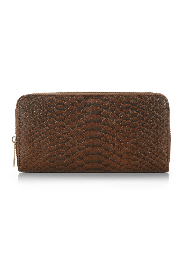 WHAT'S SO FISHY BROWN WALLET