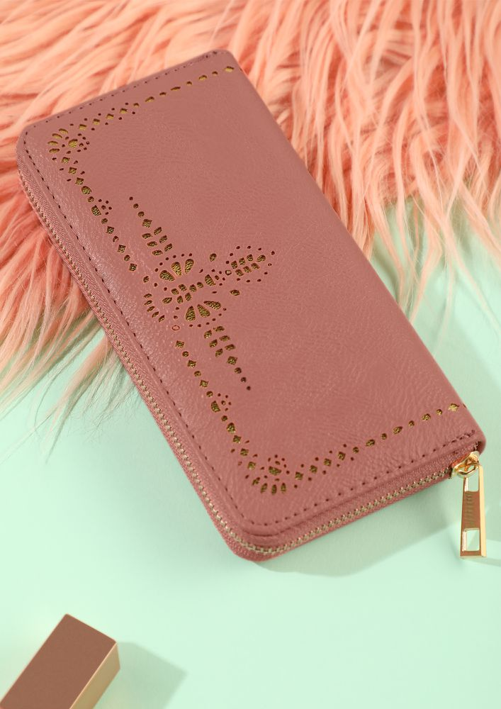 GRAB BEFORE YOU GO PINK WALLET