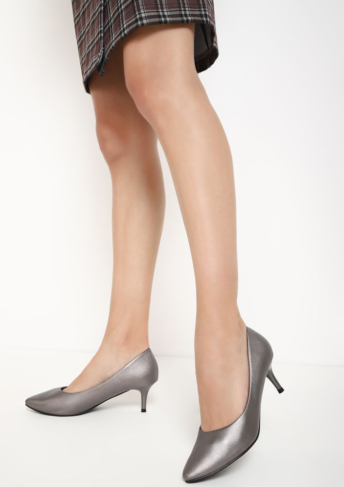 THE PERFECT BALANCE SILVER PUMPS