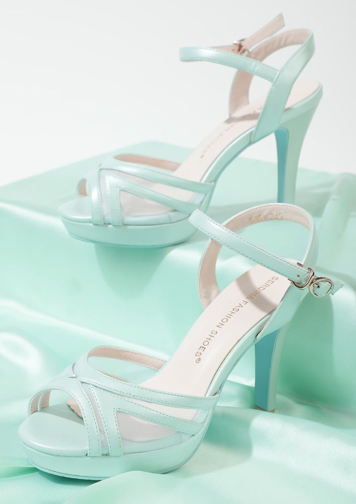 CRAVING A CANDYFLOSS BLUE PEEP TOES