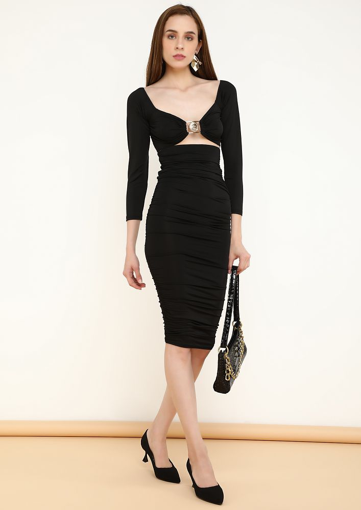 SIP ON THE SEDUCTION BLACK TWO PIECE