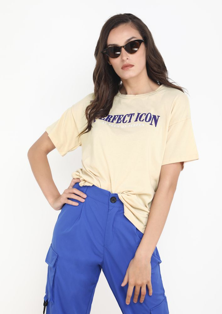 MINIMAL ON THE GO APRICOT T-SHIRT