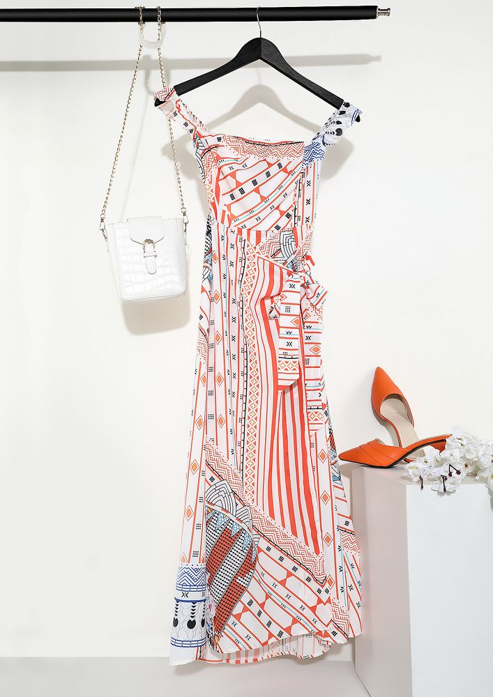 Collecting Moments Like Daisies White Maxi Dress