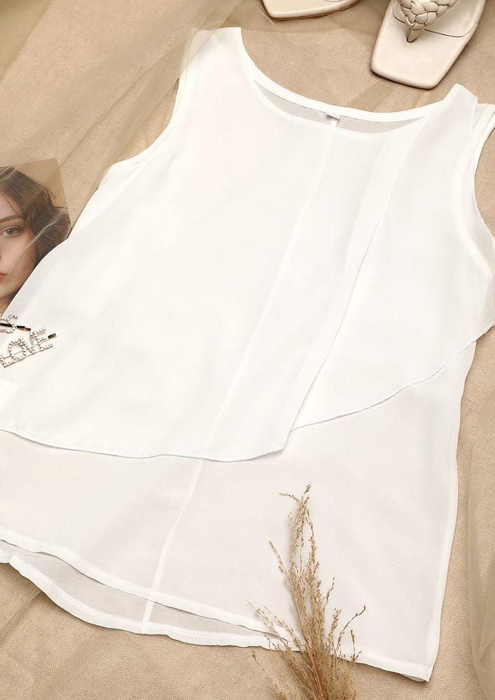 IN THE MOOD TO DALLY WHITE TOP