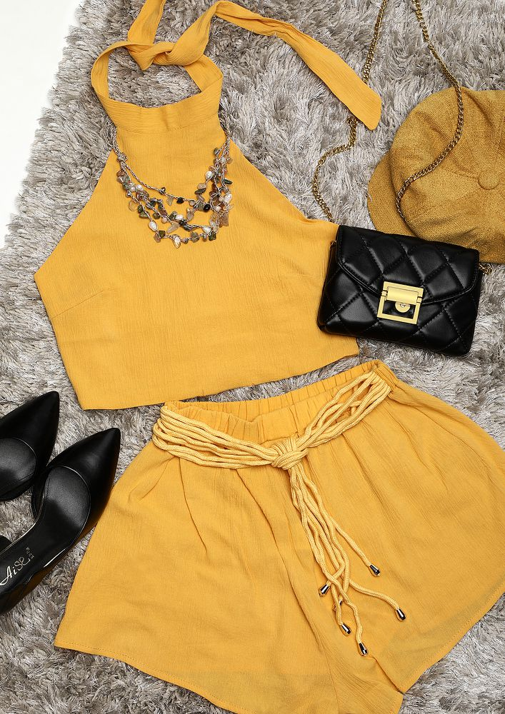 ALL THINGS BRIGHT YELLOW TWO PIECE