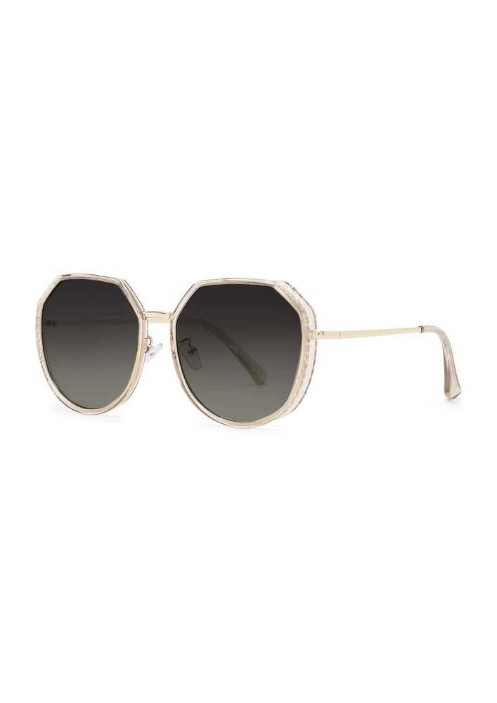 SEE ME AGAING GREY RETRO SUNGLASSES