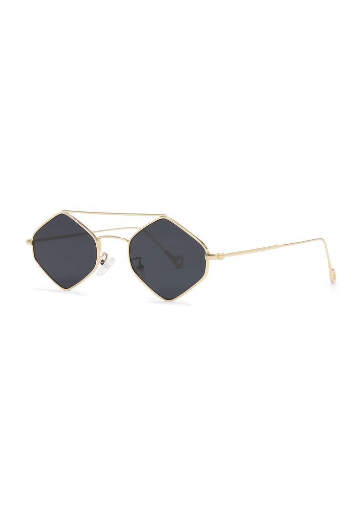 ALWAYS THE FIRST ONE BLACK RETRO SUNGLASSES