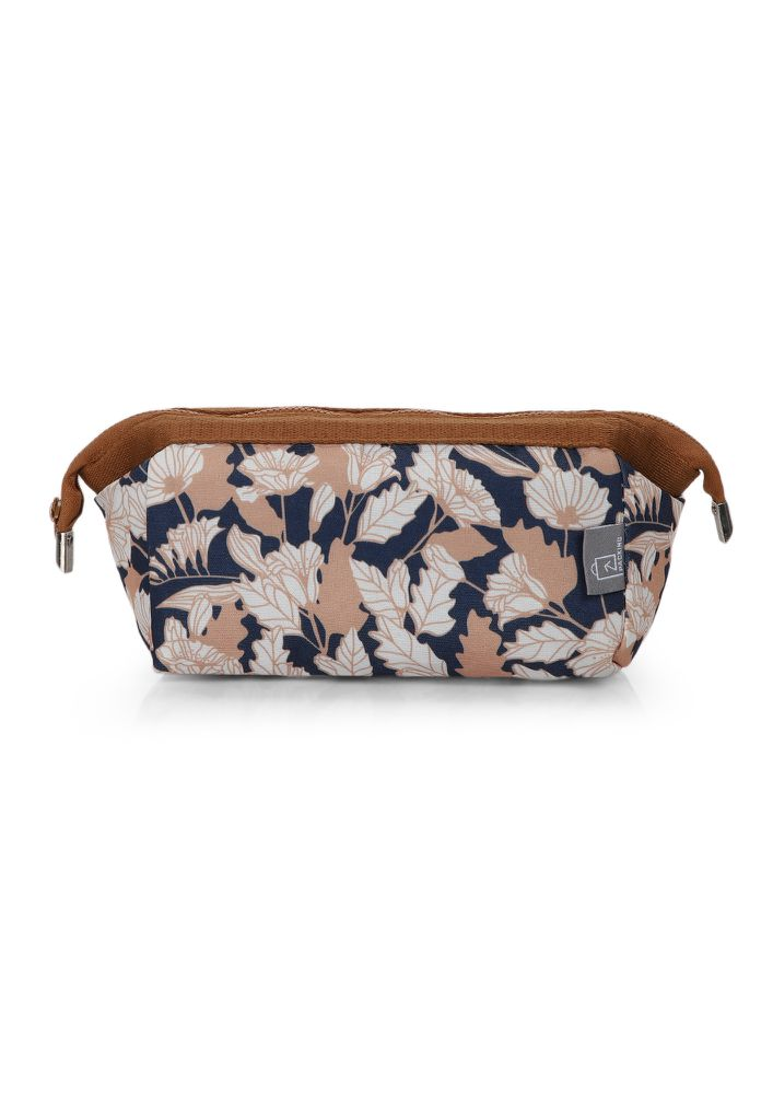 VALLEY OF FLOWERS MULTICOLOR MAKE-UP POUCH