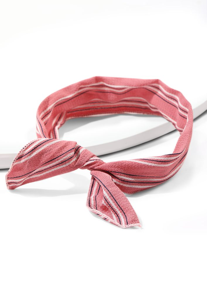 KNOT IN HERE PINK HAIRBAND