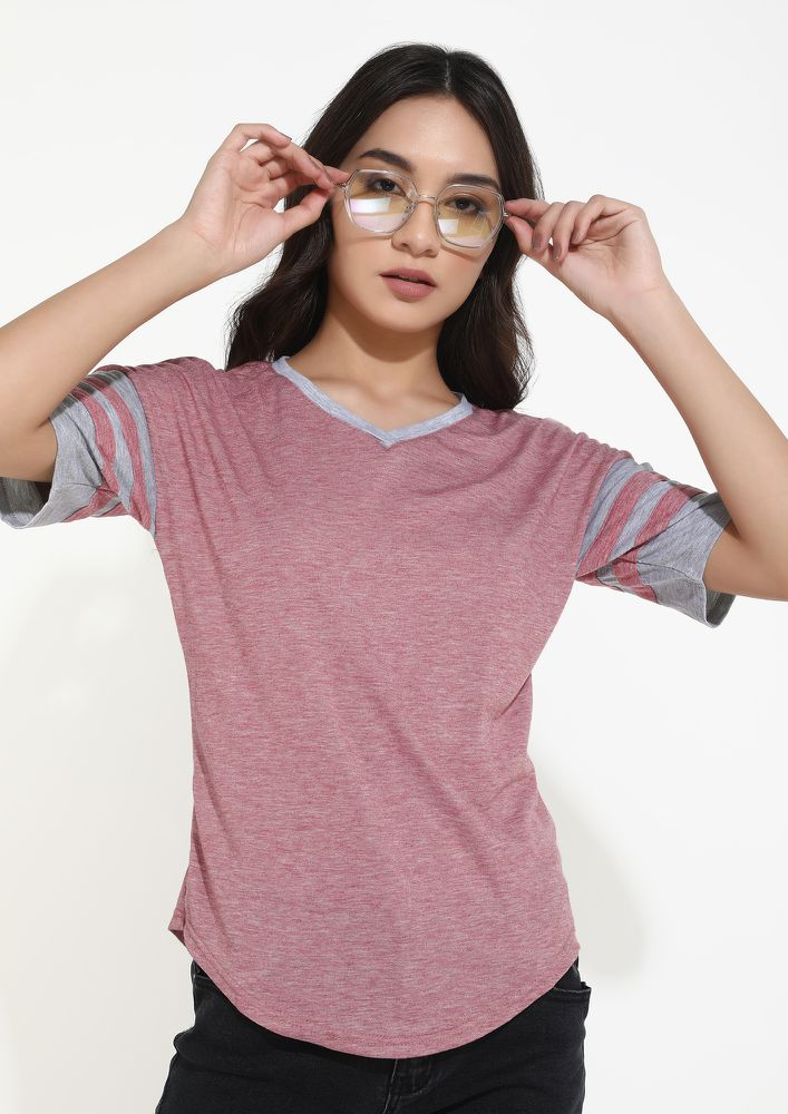 LET'S KEEP IT CASUAL PINK TOP