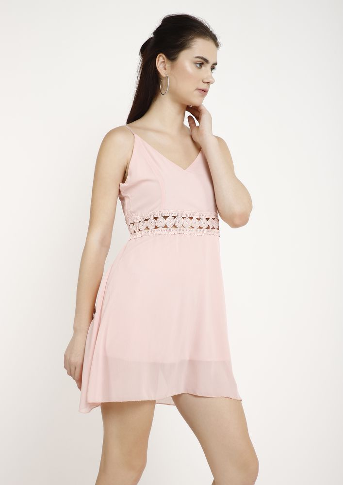 TAME ME NOT PINK TUNIC DRESS