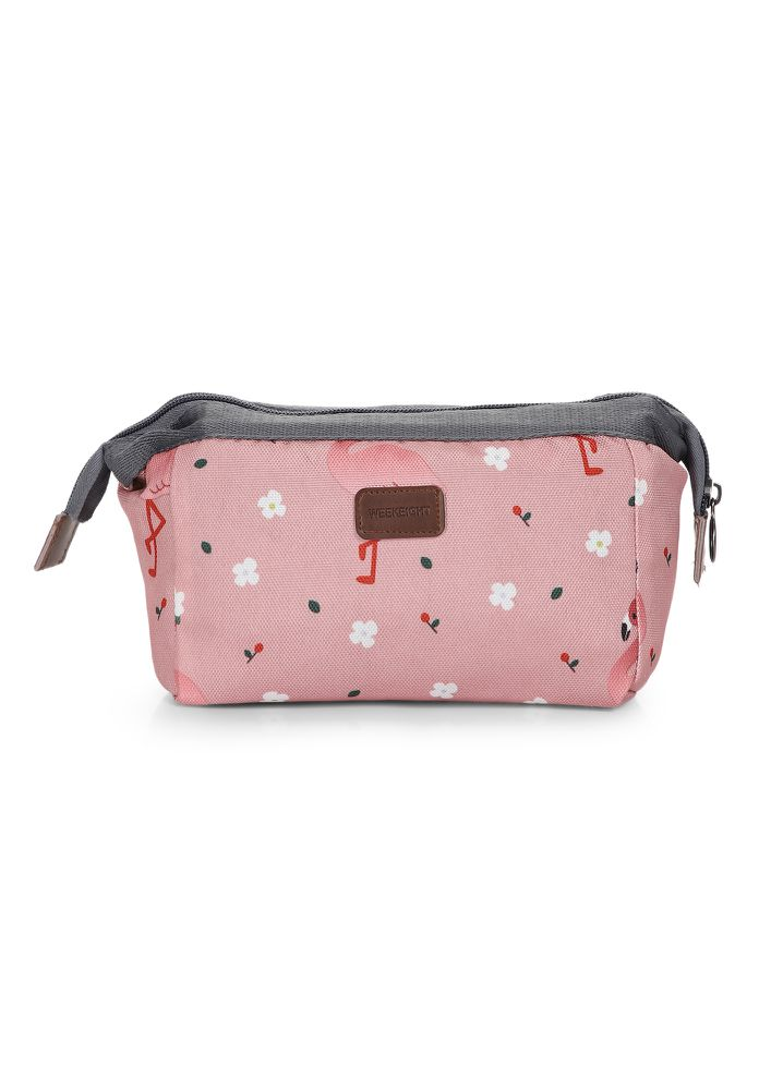 BELIEVE IN YOURSELF  PINK MAKE-UP POUCH