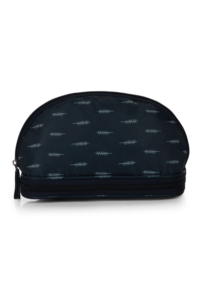 THINK IT THROUGH NAVY MAKE-UP POUCH