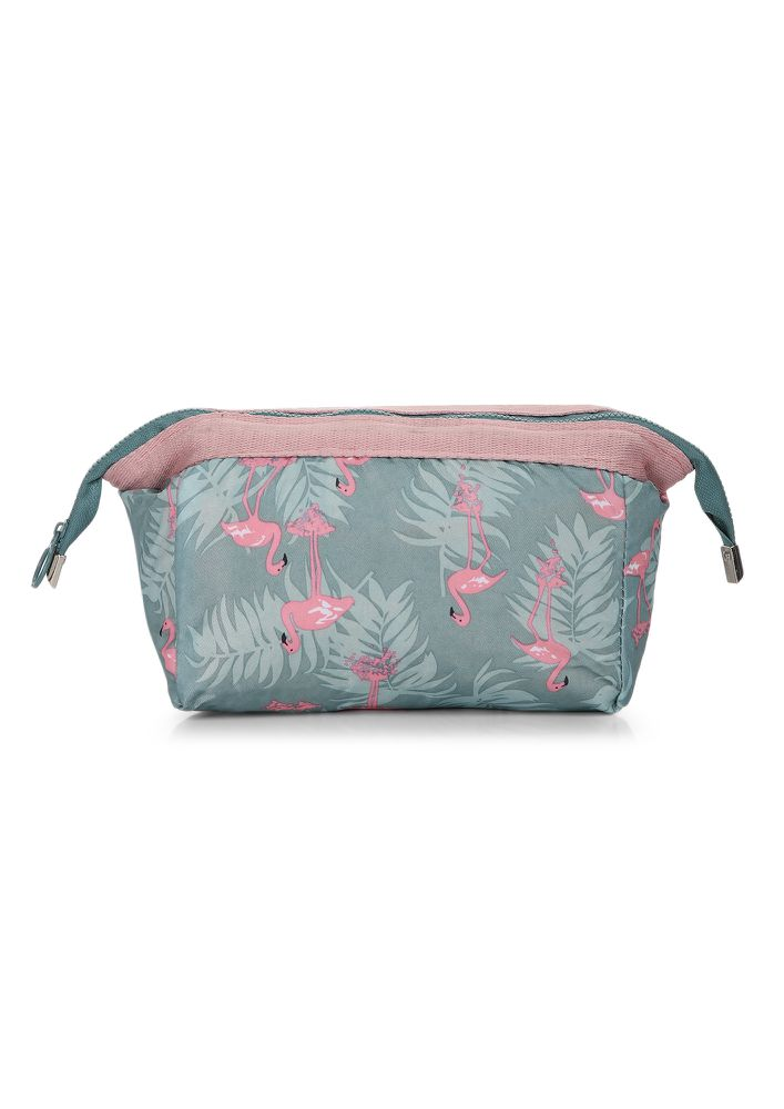 FREE AS A BIRD GREY MAKE-UP POUCH
